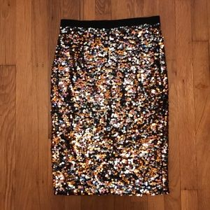H&M Sequin Skirt NWT